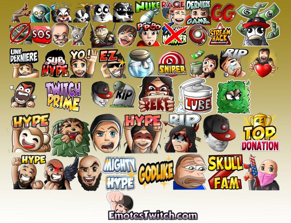 December 17 twitch emotes - Custom emotes and badges for Streamers